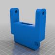 MKS_TFT_70_Gelenk1.png Télécharger fichier STL gratuit Écran MKS TFT70 Cover Gehäuse • Design à imprimer en 3D, Leon75