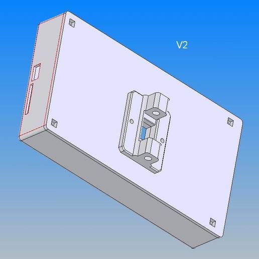 MKS_TFT70_V2.jpg Télécharger fichier STL gratuit Écran MKS TFT70 Cover Gehäuse • Design à imprimer en 3D, Leon75