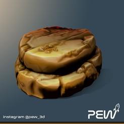 Rock_02.jpg Télécharger fichier STL gratuit Rocher 02 - Boardgames / Wargames • Objet pour imprimante 3D, pew_3d