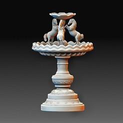 Fountain.jpg Télécharger fichier OBJ Fontaine • Design pour impression 3D, tex123