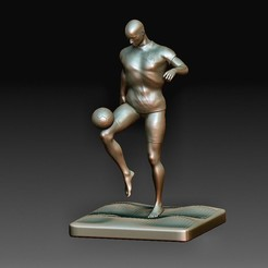 The Player.jpg Download OBJ file The Player • 3D printing model, tex123