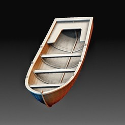 Boat.jpg Download OBJ file Fishing boat • 3D printer design, tex123
