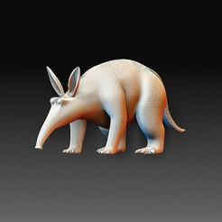 Anteater.jpg Download OBJ file Anteater • 3D print model, tex123