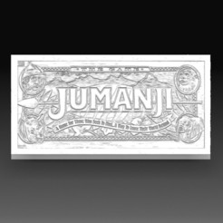 Jumanji.jpg Download OBJ file Jumanji • 3D printable object, tex123