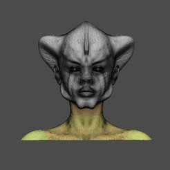 Descargar archivos 3D Cabeza de reptil, tex123