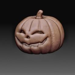 Pumpkin.jpg Download OBJ file Pumpkin • 3D print model, tex123