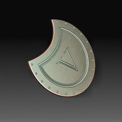 Sparta shield.jpg Download OBJ file Sparta shield • Model to 3D print, tex123