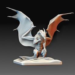Dragon.jpg Download OBJ file Dragon • 3D printable model, tex123