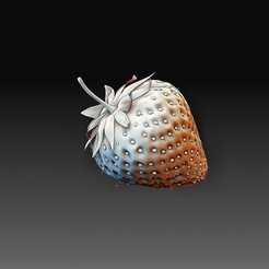 Strawberry.jpg Download OBJ file Strawberry • 3D printing object, tex123
