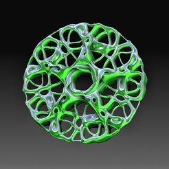 PM3D_garden.jpg Download OBJ file Fractal ornament 2 • 3D printable model, tex123