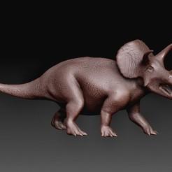 Triceratops.jpg Download OBJ file Triceratops dinosaurus • 3D printer model, tex123