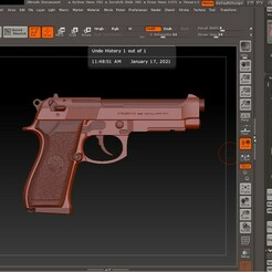 3D model ZB.jpg Download OBJ file Beretta • 3D printer template, tex123