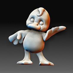 Baby Duck.jpg Download OBJ file Baby Duck • 3D print design, tex123