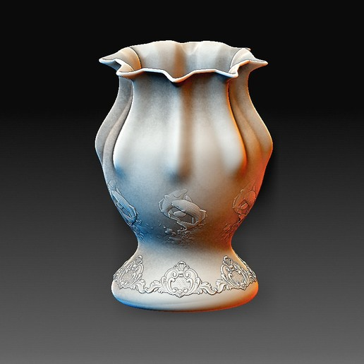 Vase 2 A.jpg Download OBJ file Vase model 2 • 3D printing model, tex123