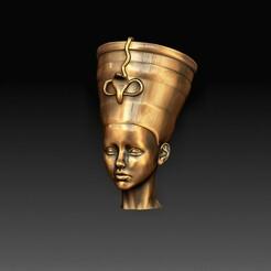 Cleopatra.jpg Download OBJ file Cleopatra • 3D printable model, tex123