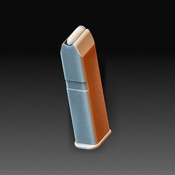 Magazine.jpg Download OBJ file Gun magazine • Template to 3D print, tex123