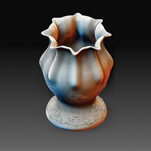 Vase 2 B.jpg Download OBJ file Vase model 2 • 3D printing model, tex123