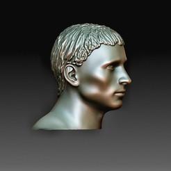 Head 3.jpg Télécharger fichier OBJ Tête de Germanicus • Modèle pour imprimante 3D, tex123