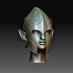 Elf head.jpg Download OBJ file Elf Head • 3D printer model, tex123