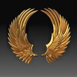 Wings new.jpg Télécharger fichier OBJ Ailes 2 • Modèle pour impression 3D, tex123