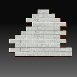 Wall.jpg Télécharger fichier OBJ Mur de briques • Plan pour impression 3D, tex123