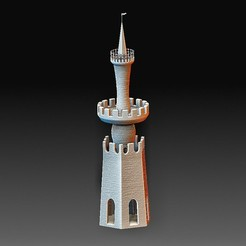 Tower.jpg Download OBJ file Tower • Design to 3D print, tex123