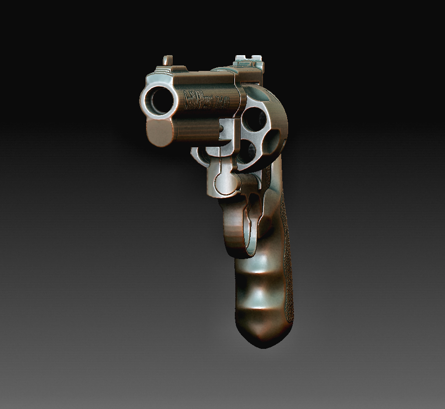 Smith and Wesson 4.jpg Download OBJ file Smith & Wesson • 3D printable object, tex123