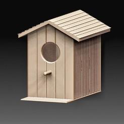 Bird house.jpg Télécharger fichier OBJ Maison des oiseaux • Modèle pour imprimante 3D, tex123