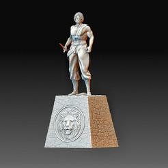 Alexander the Great 2.jpg Download OBJ file Alexander the Great • 3D print model, tex123