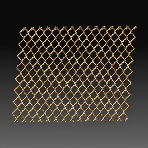 Fence.jpg Download OBJ file Wire fence • 3D printing template, tex123