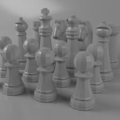 Télécharger fichier 3D Échecs, AnthonyCo