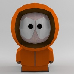 Download STL file Kenny - South Park, AnthonyCo