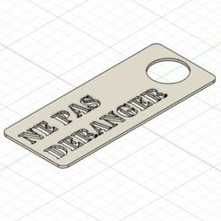 ne_pas_deranger_plaque_porte_signe.jpg Télécharger fichier STL Ne pas déranger, plaque de porte • Objet pour imprimante 3D, patrickemin