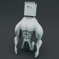 Preview1.jpg Download STL file Monster Limited Edition - 3D Print Model • 3D print template, vancouverfx3d