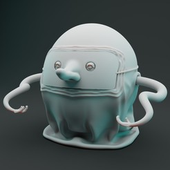 Preview1.jpg Download OBJ file Monster Limited Edition 3D Print Model • 3D printable template, vancouverfx3d