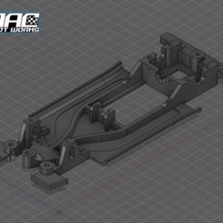Screenshot_1953.png Download STL file Lancia Delta SCX Slot Chassis • 3D printer object, ItalianDriver