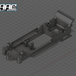 Screenshot_1958.png Download STL file Lancia Stratos SCX Slot Chassis • 3D printable object, ItalianDriver