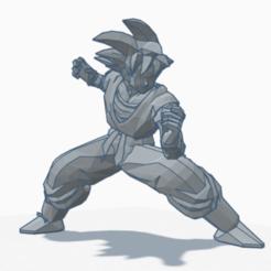 Descargar archivos 3D gratis Goku (DBZ), s2016065