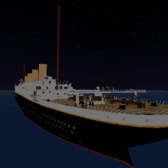 Titanic.png Download free OBJ file Titanic statue • 3D print template, s2016065