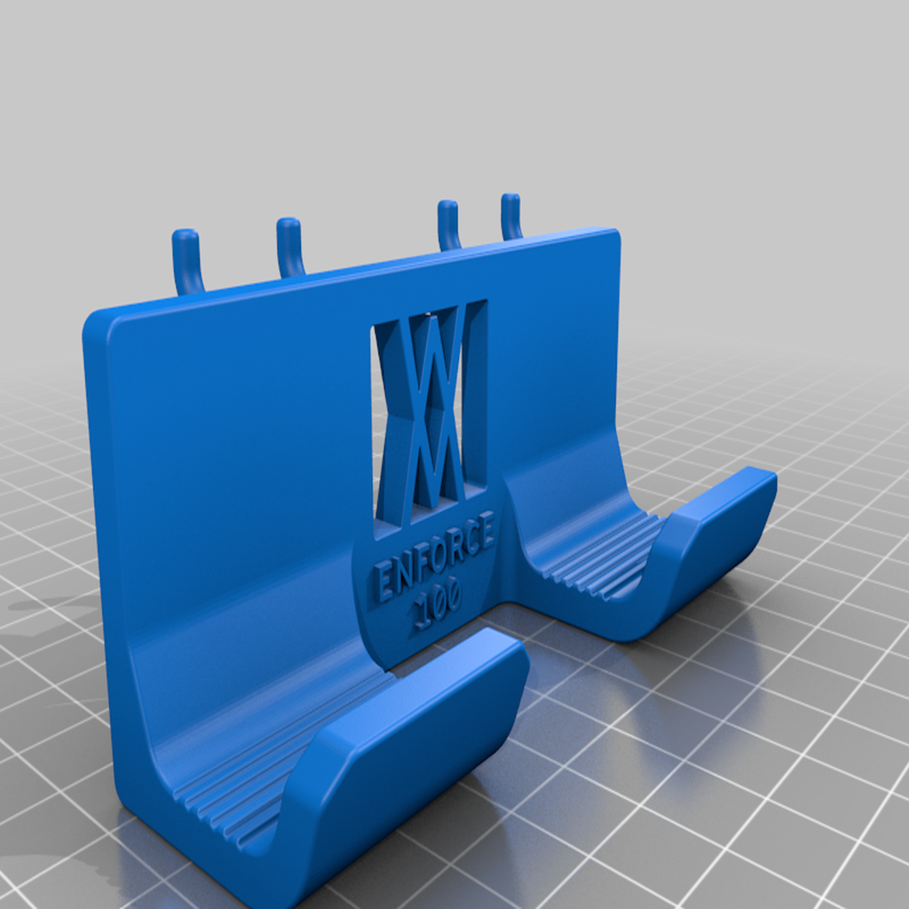 enforce_100_pins.png Download free STL file Engineers Hammer Holder 100g 027 I for screws or peg board • 3D printer model, Wiesemann1893