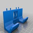 Download free STL file Engineers Hammer Holder 100g 027 I for screws or peg board • 3D printer model, Wiesemann1893