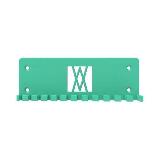 056_01.jpg Download free STL file Combination Spanner Set 12pcs metric 6-22mm Wall Holder 056 I for screws or peg board • 3D print design, Wiesemann1893