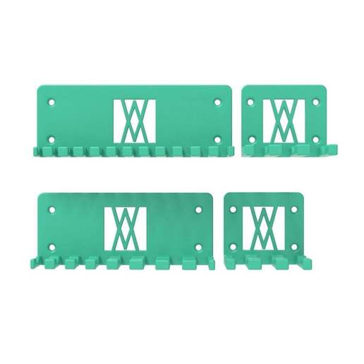 016_01.jpg Download free STL file XXL Combination Spanner Set 26pcs metric 6-32 mm Wall Holder 016 I for screws or peg board • 3D printable model, Wiesemann1893