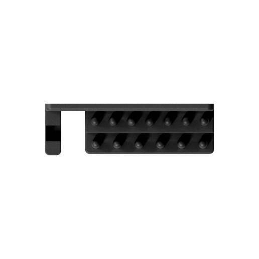 """007_03_b.jpg Télécharger fichier STL gratuit Support pour jeu de clés à douille 28pcs 1/4"""" avec barre de rallonge et douilles pour support mural 007 • Modèle imprimable en 3D, Wiesemann1893"""