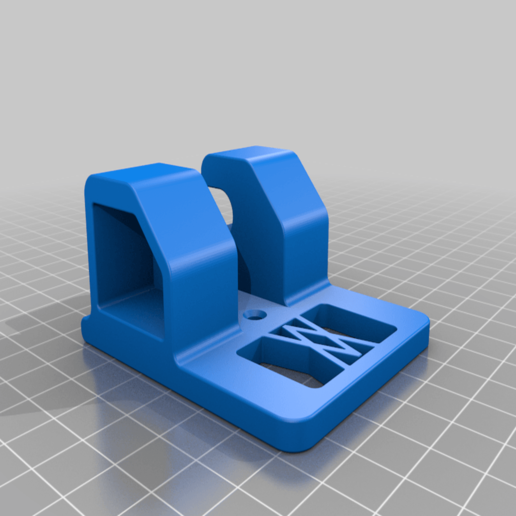 Ratsche_small_02.png Download free STL file Ratchet (3/8 Inch) Wall Mount 047 I for screws or peg board • 3D printable object, Wiesemann1893