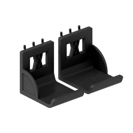 033_02_b.jpg Download free STL file XXL Sledgehammer Holder (4.5kg/10lb) 033 I ENFORCE I for screws or peg board • 3D print design, Wiesemann1893