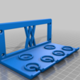 Screws.png Download free STL file TX Screwdriver Set 6pcs Holder for Wall 058 I for screws or peg board • 3D print template, Wiesemann1893
