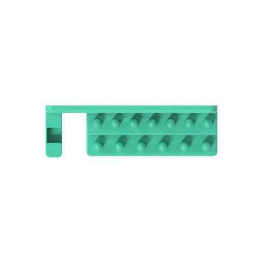 """007_03.jpg Télécharger fichier STL gratuit Support pour jeu de clés à douille 28pcs 1/4"""" avec barre de rallonge et douilles pour support mural 007 • Modèle imprimable en 3D, Wiesemann1893"""