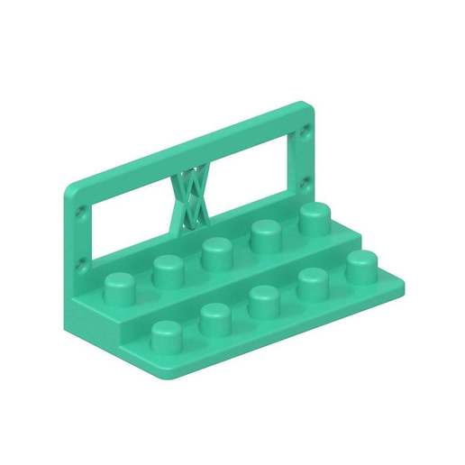 010i_02.jpg Download free STL file Tool Holder for TX Socket Set 19pcs 010 I for screws or peg board • 3D printable template, Wiesemann1893