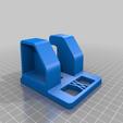 Download free STL file Large Ratchet (1/2 Inch) Tool Holder 048 I for screws or peg board • 3D printable model, Wiesemann1893